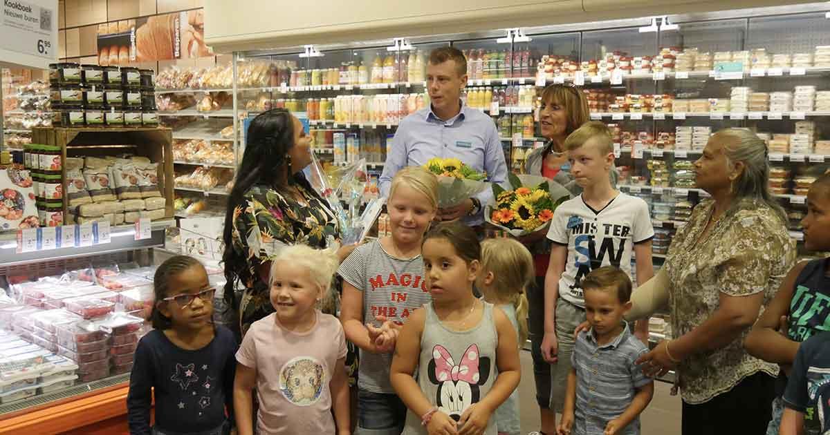 Lancering kookboek Nieuwe Buren bij Albert Heijn