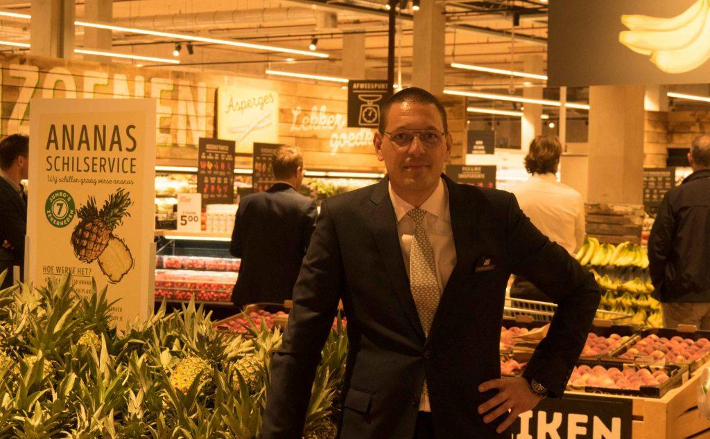 Jumbo Foodmarkt Utrecht Arjan van der Maas foto: www.regioleidscherijn.nl